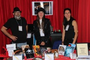 Trois de nos auteurs très en vogue: Bruno Jetté, M.L. Lego et Marlène Gagnon.