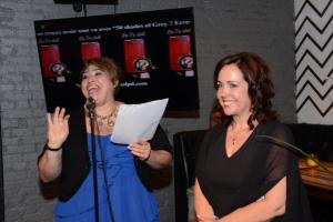 Patricia et Anick étaient plus que fières de présenter leur premier roman. Elles ont profité de l'occasion pour annoncer à leurs secteurs qu'elles travaillent actuellement à la suite du 7e Ciel.