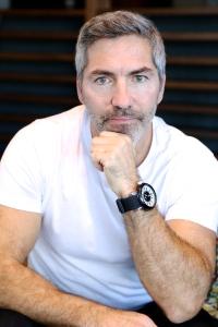 Patrick Hamel, auteur du roman policier La ruelle.